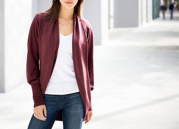 Our favorite cardigan is back in a new color