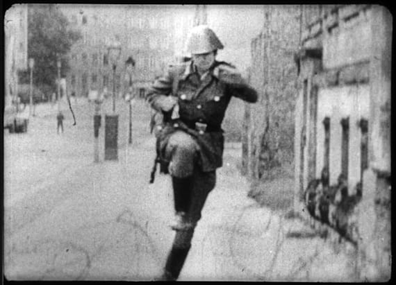 The iconic soldier who leaped over the Berlin Wall