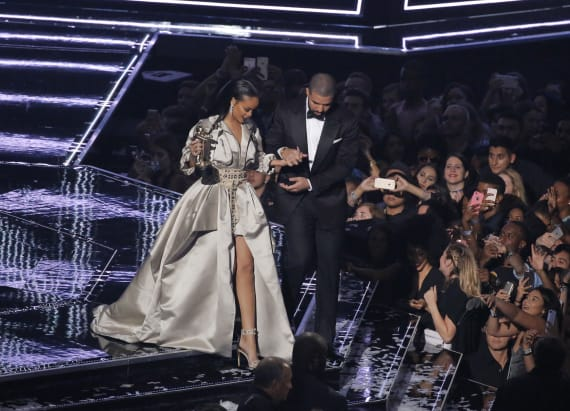 Drake and Rihanna's intimate VMAs after-party