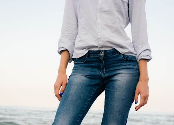 Skinny jeans could be a health hazard