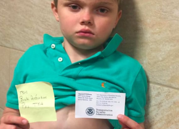 TSA sparks uproar after 9-year-old was held