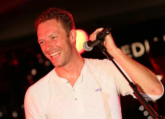 Chris Martin likens this pop star to Frank Sinatra