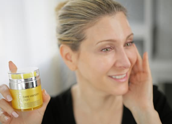 Get the beauty buzz on bee venom