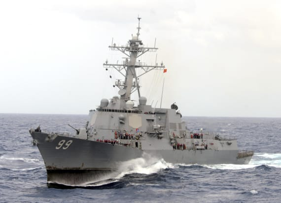 Iran vessels make 'high speed intercept' of US ship
