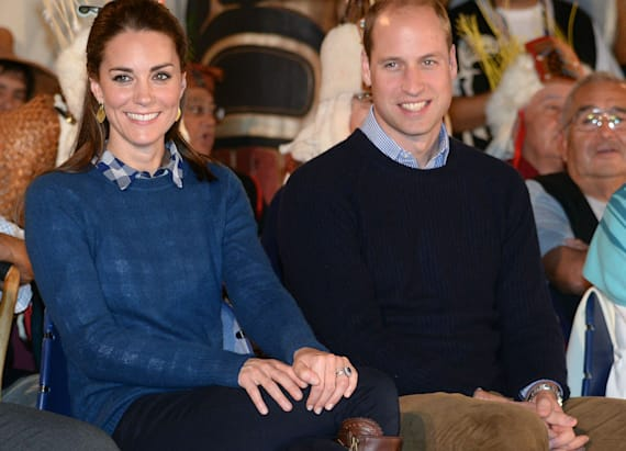 Duchess Kate and Prince William are totally twinning
