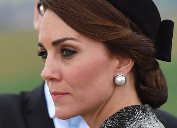Duchess Kate sports Missoni coat