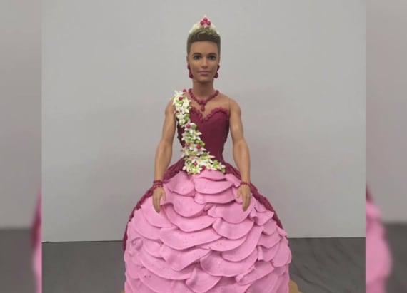 Bakery facing backlash over Ken doll birthday cake