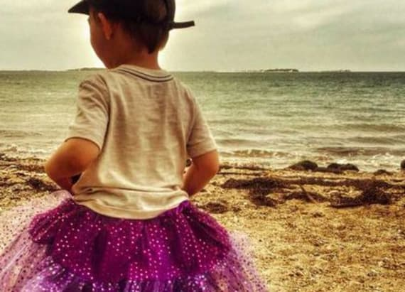 Mom defends her toddler son's choice to wear tutus
