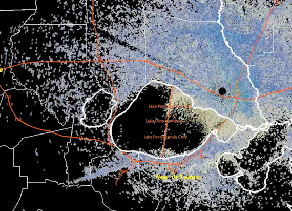 Massive termite swarm shows up on weather radar