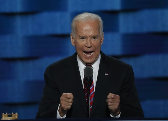 In strong attack, Biden says Trump has 'no clue'