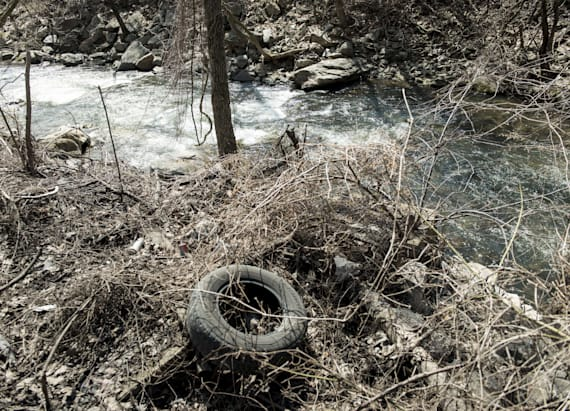 Illicit drugs found in Baltimore's streams