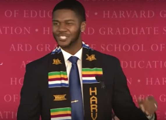 Harvard grad's speech is inspiring millions