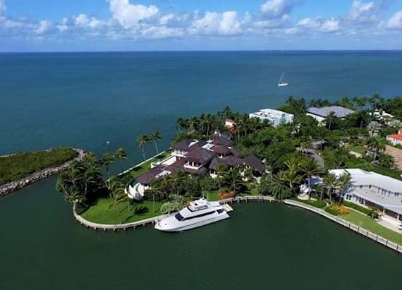 Tour the infamous 'Miami Vice' house that's for sale