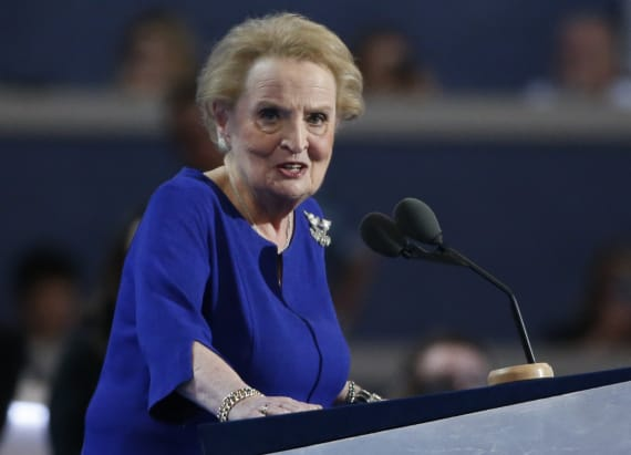 Albright slams Trump, Putin's relationship