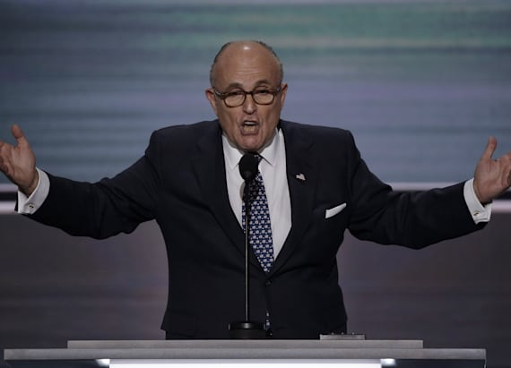 Giuliani: Muslims on terror list should be tagged