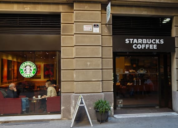 Starbucks is (literally) changing its image