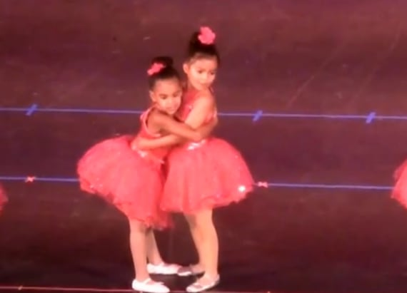 Blue Ivy busts a move like Beyonce