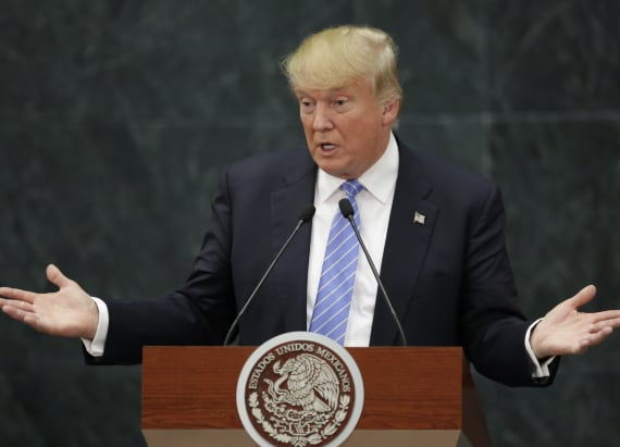 Trump, Mexican president avoided one major topic