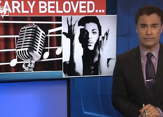 Sports anchor fired for on-air Prince tribute