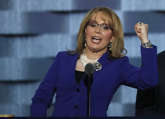 Giffords: 'Come January, I want to say 2 words ... '