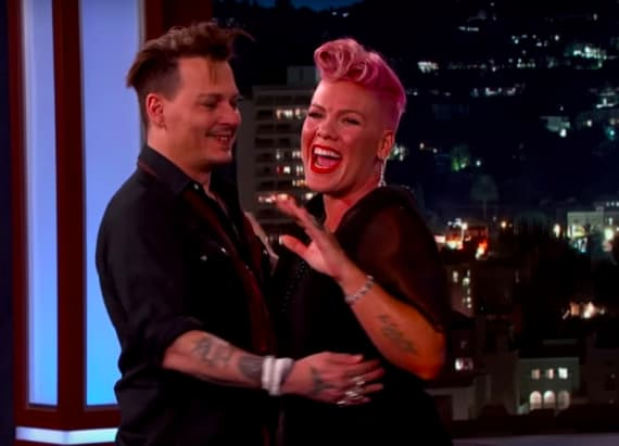 Pink freaks out after meeting celebrity crush