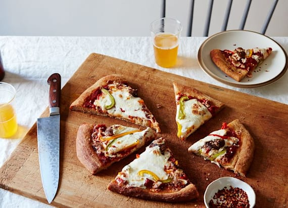 Unlikely beverage may be key to tasty pizza crust