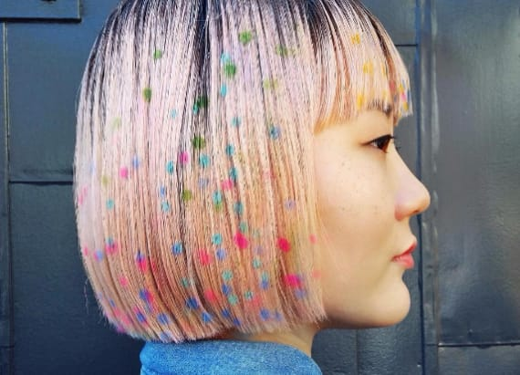 Artsy new hair trend is perfect for festival season
