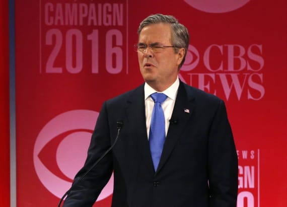 Jeb lashes at Trump's new immigration policy