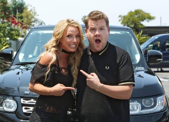 Spears' 'Carpool Karaoke' draws the ire of Twitter