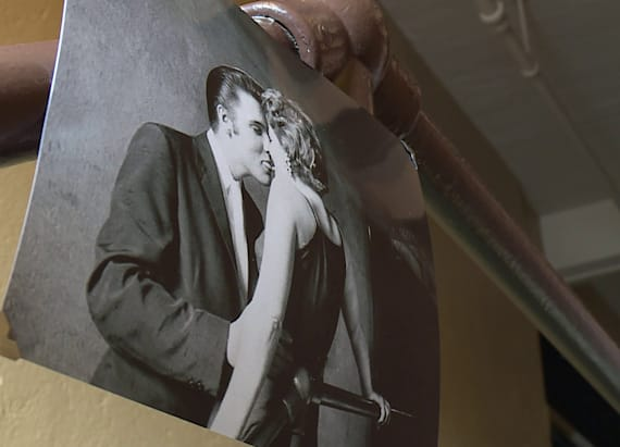 Mystery woman reflects on famous Elvis photo
