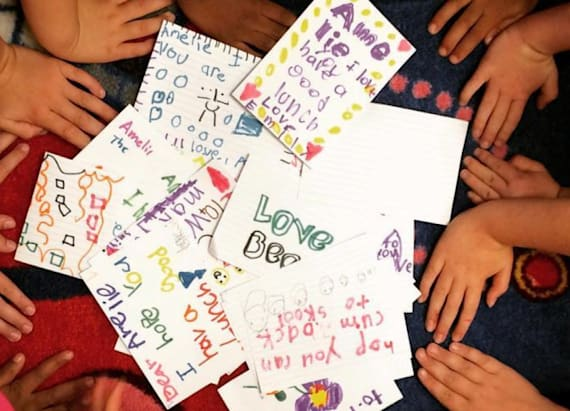 Girl's lunchbox notes inspire many after tragedy