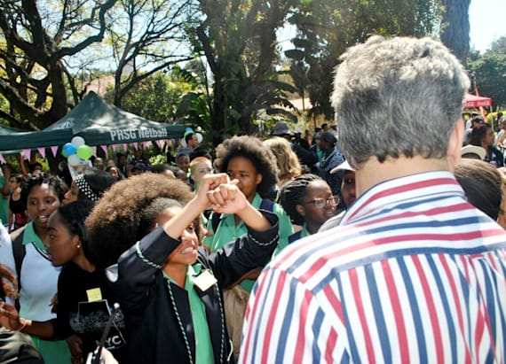 High school girls protest racist hair policy