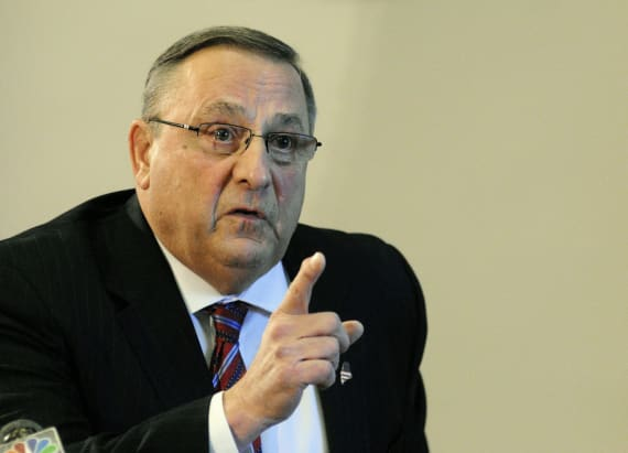 Lawmaker: tirade shows Maine governor needs 'help'