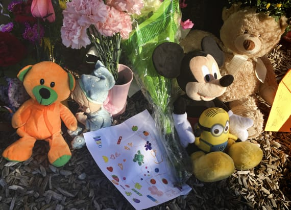 Community has birthday party for slain 10-year-old