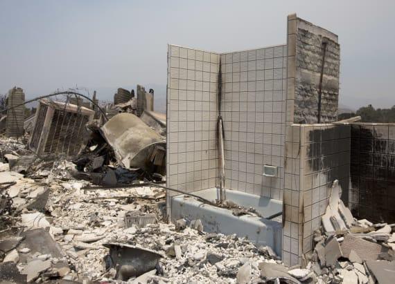 Tragic photos show wildfires ravaging Calif.