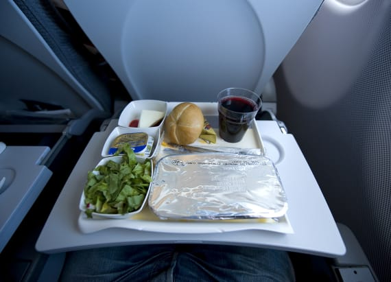 Group finds best use for unwanted airplane food