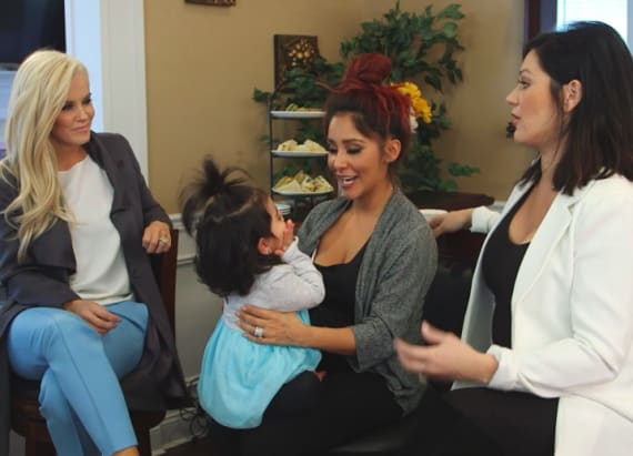 Jenny McCarthy gives Snooki, JWoww some parents tips