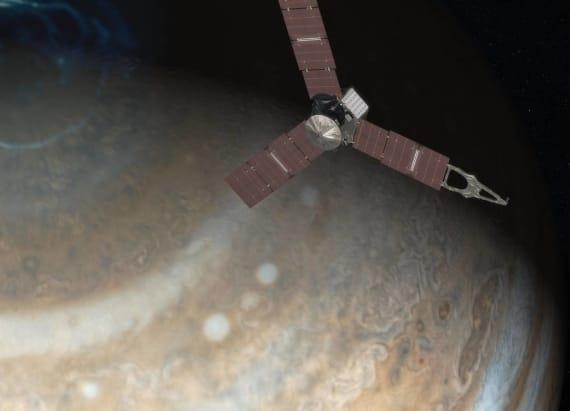 NASA arrives in Jupiter for July 4th