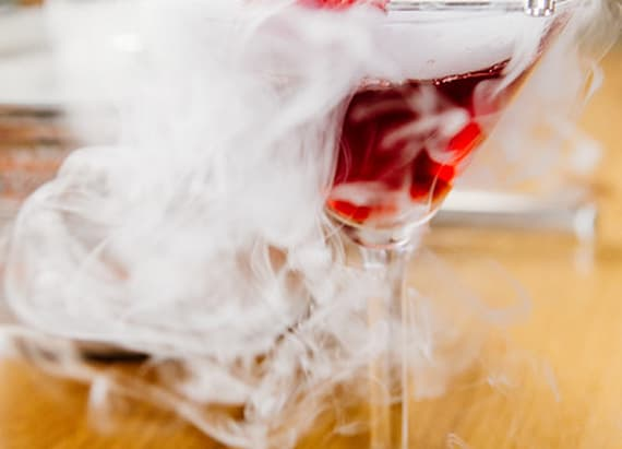 Best Bites: Smoking Halloween drink