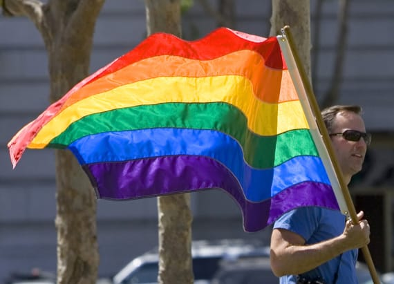 Americans in favor of laws protecting LGBT people