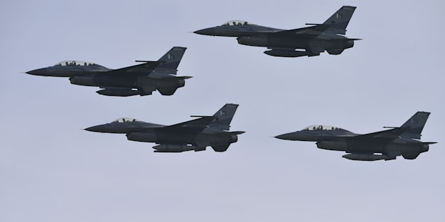Pakistani F-16 Planes Fly Over Islamabad At Night As Atmosphere Remains Tense On Both Sides Of Border