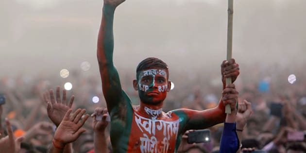 BJP wins local bodies polls in Gujarat