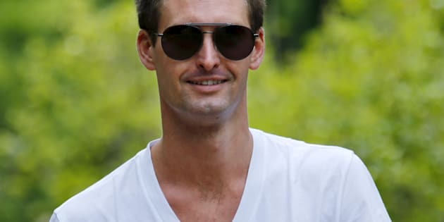 Snapchat CEO: I Never Said India Too Poor For App