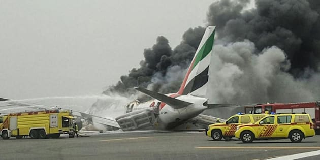 Dubai Airport operations slowly return to normal following fiery emergency landing