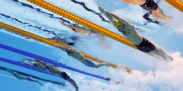 Australia's women's relay team just set a world record to win gold