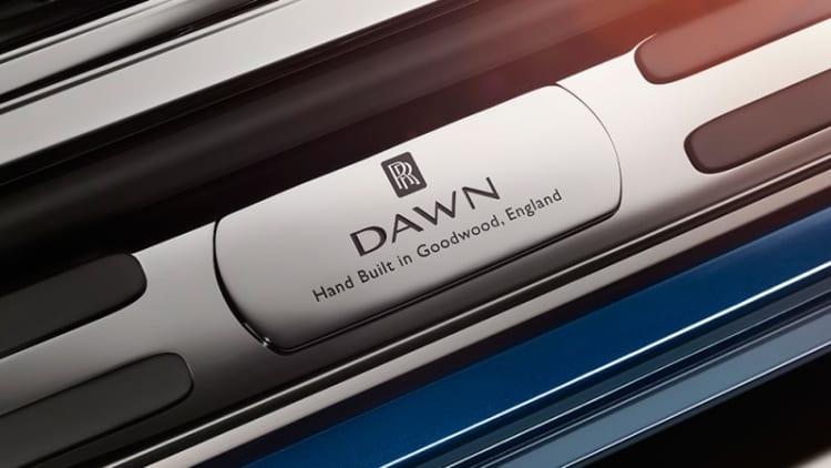 Rolls-Royce Dawn teased, will debut on September 8