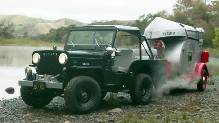Petrolicious profiles an heirloom Willys Jeep CJ-3B