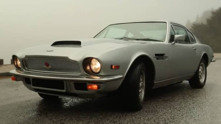 Petrolicious shows a 1977 Aston Martin V8 shared by a father and son