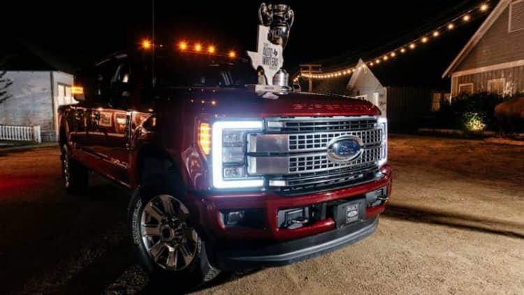 Ford F-Series Super Duty earns Truck of Texas award