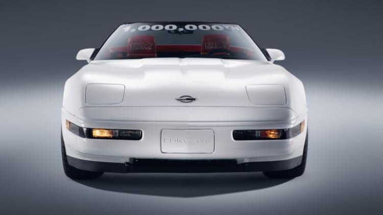 Chevy finishes restoration of damaged 1 millionth Corvette